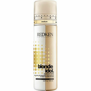 Redken Blonde Idol Custom-Tone 196ml Daily Treatment for Warm or Golden Blondes