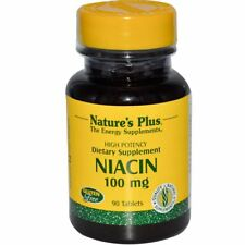 Niacin, 100 mg, 90 Tablets - Nature's Plus