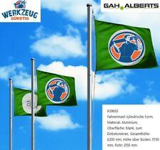 GAH-Alberts Aluminium Fahnenmast, zylindrisch - 6200mm