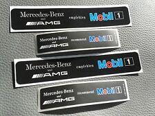 4 Aufkleber / sticker Mercedes-Benz AMG Mobil1 W124 W202 W208 W203 W210 R129