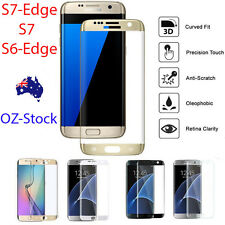 Full Coverage Tempered Glass Screen Protector For Samsung Galaxy S7 EDGE S6 s3 2