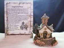 Boyds Bearly-Built Villages Chapel in the Woods #19003 (Mib)
