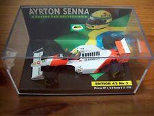 1/43 AYRTON SENNA No 03 MCLAREN MP4/5B HONDA V10 1990 WORLD CHAMPION