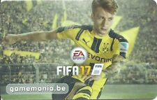 RARE / CARTE : FIFA 17 / CARD JEU VIDEO GAME BELGIQUE GAME MANIA