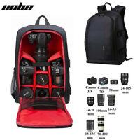 Groß Fotorucksack Kamera Rucksack Reise Tasche für Canon Nikon Sony Regenschutz