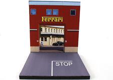Diorama présentoir Ferrari Factory Usine - 1/64ème - #3in-2-J-J-001