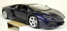 Maisto 1/24 Scale - Lamborghini Aventador LP 700-4 Dark Blue Diecast model car