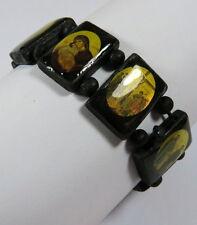 Modeschmuck-Armbänder aus Holz ohne Stein