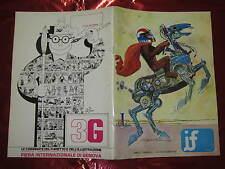FANZINE DI FUMETTI IF ANNO I° N°3 LUG-SET 1973 ALAN FORD LUCIFERA COSMINE