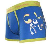 CK Calvin Klein Mens Underwear Classic Cotton Trunk Droplet Logo S Size New