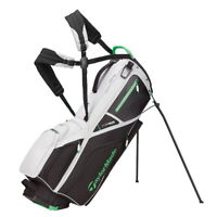 TaylorMade Flextech Crossover Stand Golf Bag - New 2021 - Grey/Black