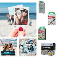 50x Instax Mini Instant White Photo Film for Fujifilm Fuji 8 25 50s 70 90 7s Cam