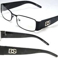 Men Women Black Clear Lens Frame Eye Glasses Rectangular Fashion Retro Nerd Geek