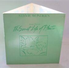 STEVIE WONDER 'Journey Through The Secret Life Of Plants' Embossed Cover - G11