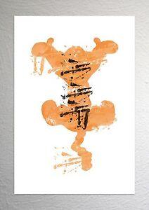 Tigger of Winnie The Pooh - Disney Art - Splash Effect - A4 Size
