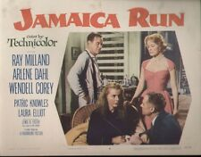 Jamaica Run 11x14 Lobby Card #4