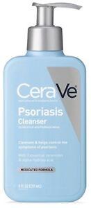 2 count CeraVe Psoriasis Cleanser Medicated Skin Wash 8fl oz