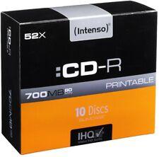 Intenso CD-R 700 MB Printable NEU & OVP