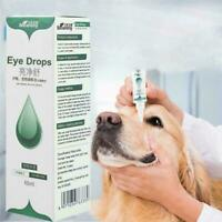 60ml Pet Eye Care Drops Dog Cat Eye Tear Stain Removing Hot- Dirts J8W9