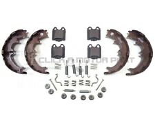 REAR HANDBRAKE SHOES + FITTING KIT & PADS FOR LEXUS IS200 & IS300 1999-2006