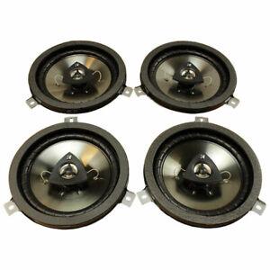 🔥 Mopar NEW Set of 4 Kicker Speaker Upgrade for Jeep Dodge Chrysler Wrangler 🔥