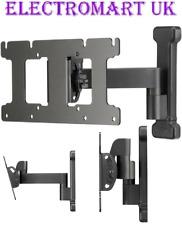 SANUS TILT SWIVEL ARM TV WALL MOUNT BRACKET VESA  75X75 100X100 200X100