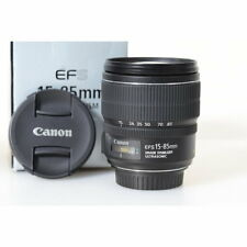 Canon EF-S 15-85 mm f/3.5-5.6 IS USM objetivamente