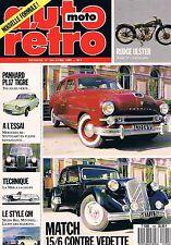 Auto Moto Retro   N°104   avr 1989 : Match 15/6 contre vedette Panhard pl17 tigr