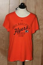 WOMEN'S PHILADELPHIA FLYERS SHORT SLEEVE T-SHIRT-SIZE: XL*