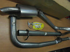 DISCOVERY 300 TDI SPORTS EXHAUST STRAIGHT THROUGH PIPE WITH DE-CAT  DOWN PIPE