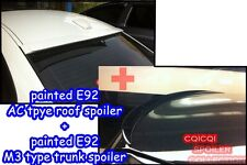 Painted COMBO BMW E92 3-series AC type roof + M3 type trunk spoiler color-475 ◎