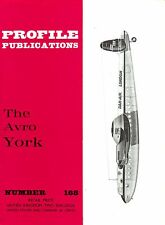 AVRO YORK: PROFILE #168/ 11 ADDED PAGES + FULL CUTAWAY/ NEW PRINT FACSIMILE ED