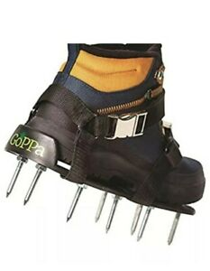 GoPPa Lawn Aerator Shoes – Easiest to USE Lawn Aerator, Fit On Your Shoes