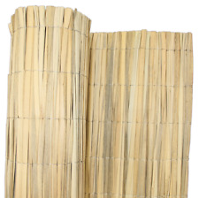 4m Natural Bamboo Bulrush Garden Screening Fencing Privacy Fence Panel Roll