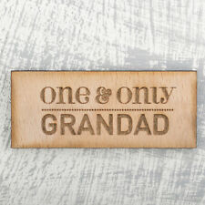 Personalised Fridge Magnets Wooden Any Text Wedding Mr and Mrs Save The Date