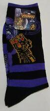 Marvel Avengers Infinity War Thanos Size 10-13 Socks Nwt