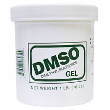 DMSO Dimethyl Sulfoxide 1 Pound, 16 oz, Gel 99% Pure