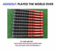 AGXGOLF MULTI-COMPOUND GRIPS BUY 1 or MANY at DISCOUNT (GOLF PRIDE TYPE STANDARD