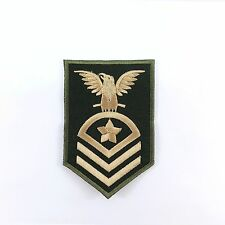 Embroidered Iron On Patch Military Army Soldier Rank Insignia Badge Craft DIY 01