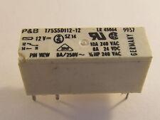 P&b t75s5d112-12, miniatura printrelais, 12vdc, 10a Potter & Brumfield relay