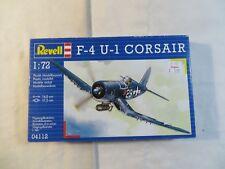 Revell 1:72 F-4 U-1 Corsair Model Kit 04112 Open Box