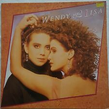 WENDY & LISA - WENDY AND LISA LP / RECORD - VIRGIN - V 2444 Ex.Cond Free Post
