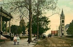 Georgia, GA, Valdosta, Patterson Street Looking South 1910's Postcard
