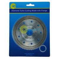 "115mm Turbo Tile Diamond Cutting Disc Angle Grinder Blade Porcelain Stone 4.5"""