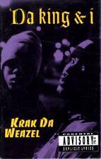 Da King & I - Krak Da Weazel Cassette Tape Single *New*