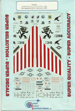 1/48 SuperScale Decals USAF F-16C Falcon 86th TFW 512th 526th FIS Ramstein AFB