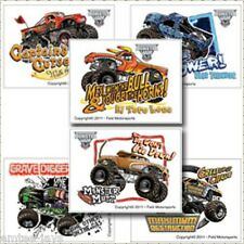 Monster Jam Tattoos x 12 - Loot Bags - Party Favours - Monster Trucks - Birthday