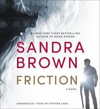Friction by Sandra Brown (2015, CD, Unabridged) NEW