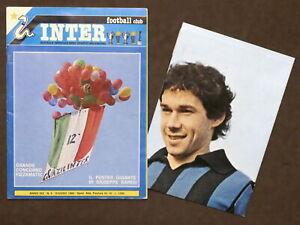 Rivista - Inter Football Club N. 6 - 1980 - Poster gigante di Giuseppe Baresi