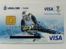 URALSIB BANK VISA RUSSIA CREDIT CARD USED EXPIRED FOR COLLECTION